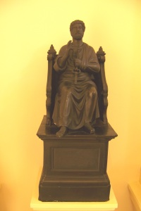 Our statue of St Peter: artist unknown