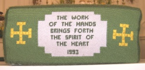 The Embroiderers' Hassock (1993)
