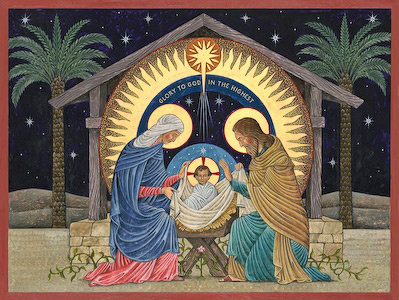 nativity mosaic 2